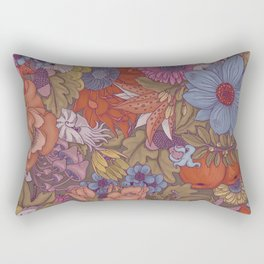 the wild side - autumn tones Rectangular Pillow