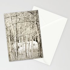 She Was a Trailer Park Girl at Heart - B&W Stationery Cards