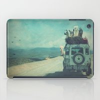 never stop exploring iPad Cases featuring NEVER STOP EXPLORING II by Monika Strigel