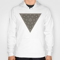 triangles Hoodies featuring Triangles by Deborah Janke