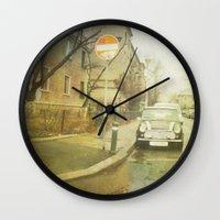 mini Wall Clocks featuring Mini by Esco