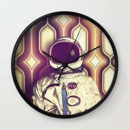 Back Down To Earth Wall Clock
