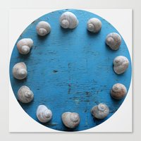 lee pace Canvas Prints featuring Snail's Pace by aeolia