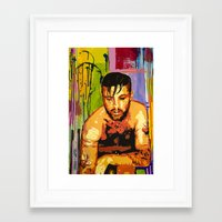 queer Framed Art Prints featuring Queer Art by MouseandHouse
