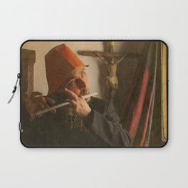 There was a child singing a very old Dutch sad song Laptop Sleeve