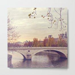 La Seine - Paris, France Metal Print