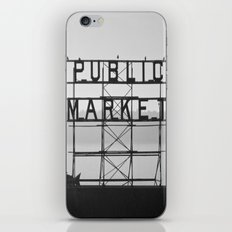 City Fish Market iPhone & iPod Skin