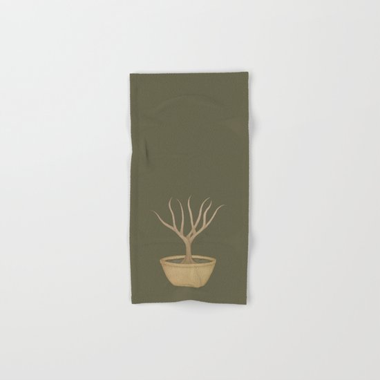 Bonsai Tree Hand & Bath Towel