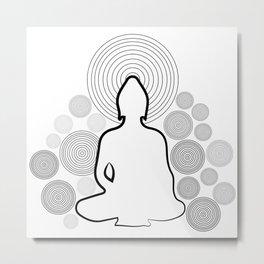 056 Buddha Metal Print