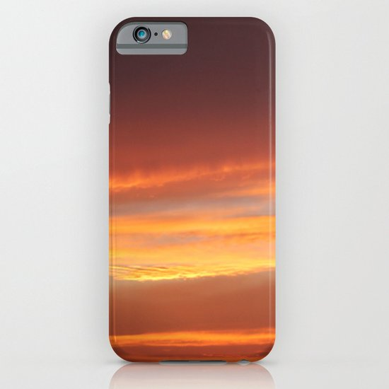 Red Evening iPhone & iPod Case