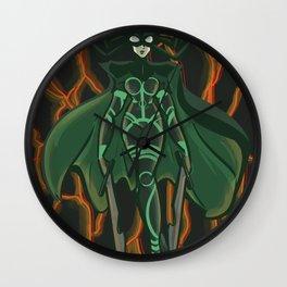 hel goddess Wall Clock