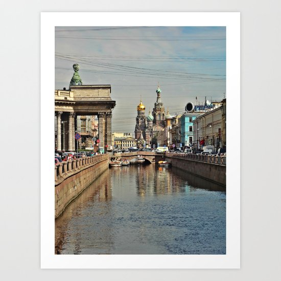 Sankt Petersburg Art Print