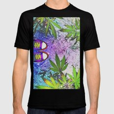 Stay High Mens Fitted Tee Black MEDIUM