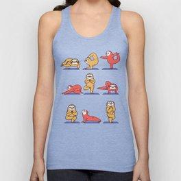 Sloth Yoga Unisex Tank Top