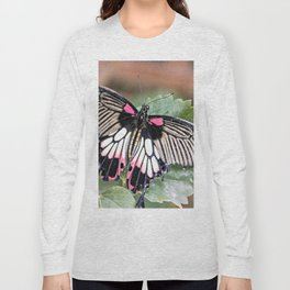 Majestic Tropical Butterfly Long Sleeve T-shirt