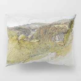 Samuel Palmer - The Valley Of Dolwyddelan - Digital Remastered Edition Pillow Sham
