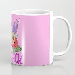 Girls fight back - Pink Coffee Mug