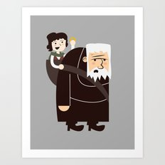 Ring Bearer Art Print