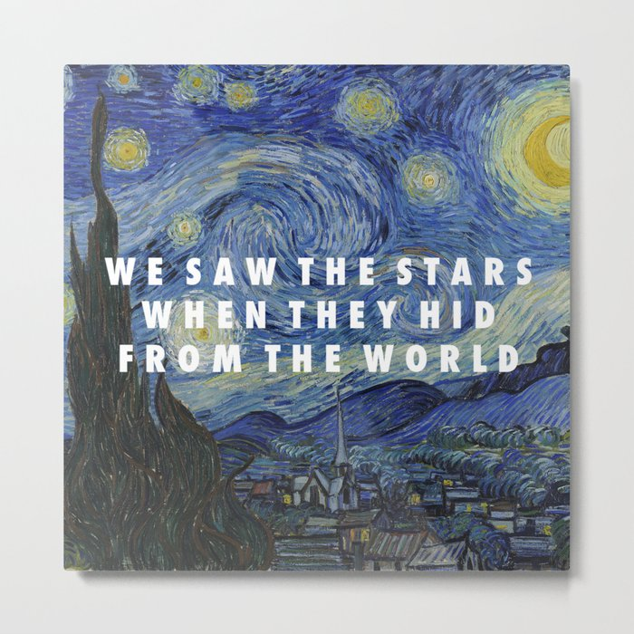 Starry Step Metal Print