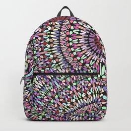 Happy Pastel Gravel Garden Mandala Backpack