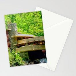 Frank Lloyd Wright   architect   Fallingwater Stationery Cards