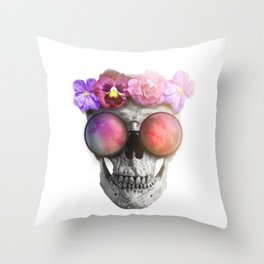 "Mortem in Gloria ""Helbi"" Throw Pillow"