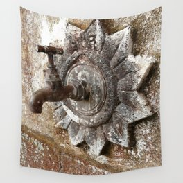 An old tap Wall Tapestry