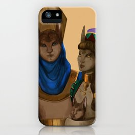 Thycenian Couple iPhone Case