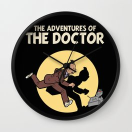 The Adventures Of The Doctor Wall Clock
