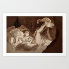La Gimbette Art Print