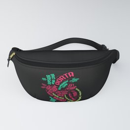 Heart Wordcloud - Gift Fanny Pack