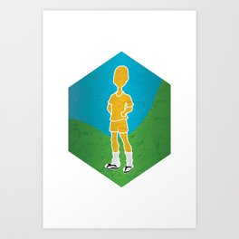 But I'm Confortable as... Art Print