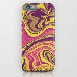 Jimi Hendrix Swirl iPhone Case