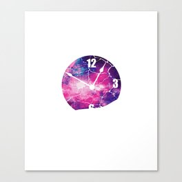 Time Runs Out Time Conscious Or Spiritual Person Gift Canvas Print