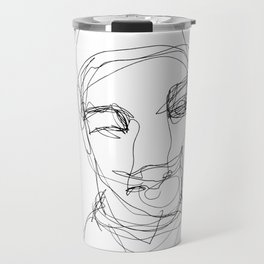 He was ready for the next step Travel Mug