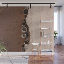 rotated rustic roof Wall Mural