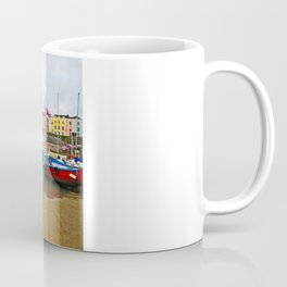 Tenby Harbour Reflection.Wales. Coffee Mug