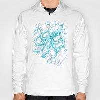 kraken Hoodies featuring Kraken by pakowacz