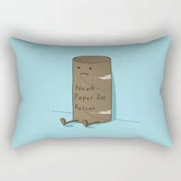 Needs Paper For Resume Rectangular Pillow