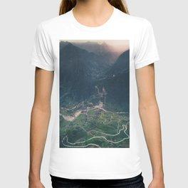 Mountainous town, Sa Pa, Vietnam T-shirt