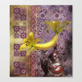 New Buddha Iconography Canvas Print