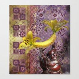 New Buddha Iconography Canvas Print