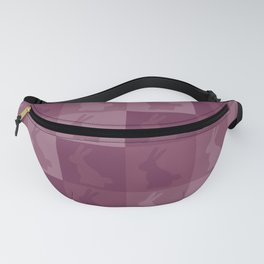 Cute easter bunny pastel pink pattern Fanny Pack