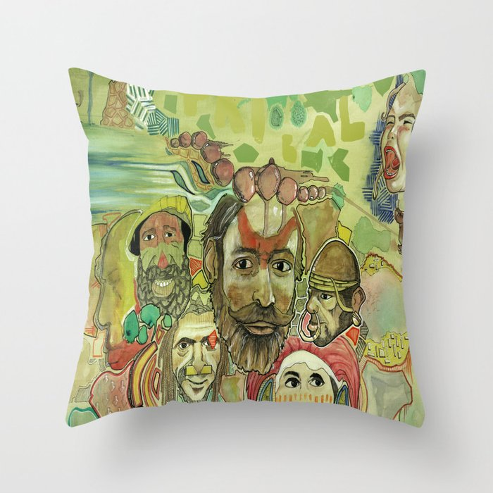 guinea Throw Pillow