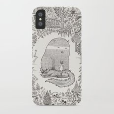 froggle, doggle and poggle iPhone X Slim Case