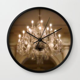 Sparkling Chandelier Wall Clock
