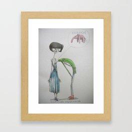 eureka ! Framed Art Print