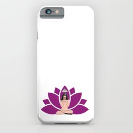 YogaLoto iPhone Case