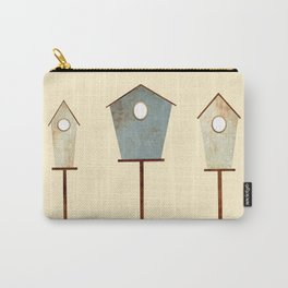 Birdy Birdhouse Carry-All Pouch