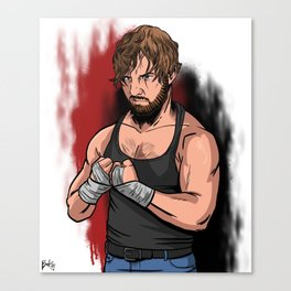 Dean Ambrose Canvas Print